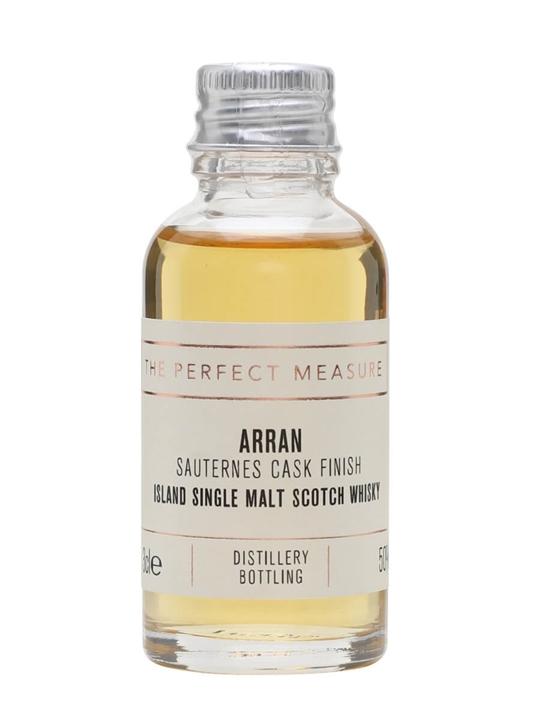 Arran Sauternes Cask Finish Sample Island Single Malt Scotch Whisky