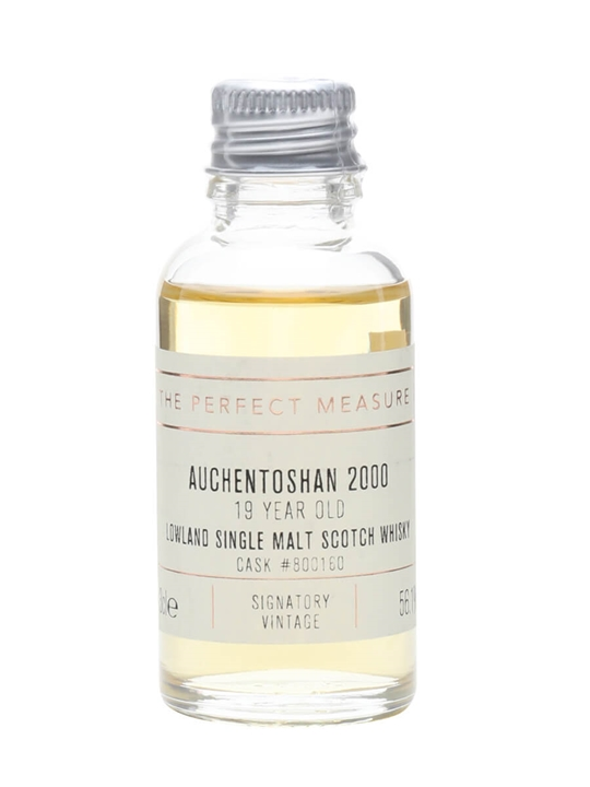 Auchentoshan 2000 Sample / 19 Year Old / Signatory Lowland Whisky