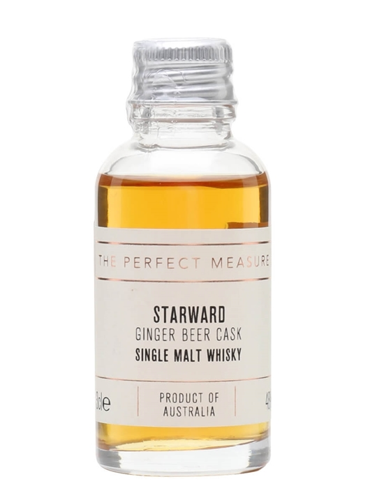 Starward Ginger Beer Cask Projects #5 Sample Australian Malt Whisky