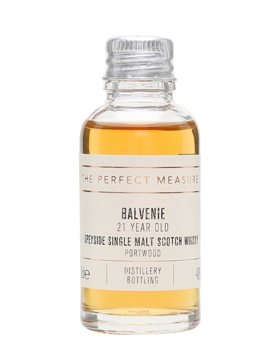 Balvenie 21 Year Old Port Wood Sample Speyside Whisky