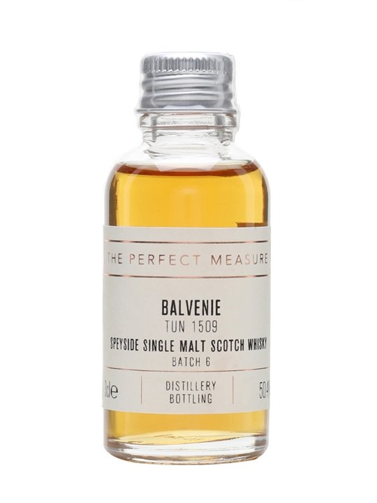 Balvenie Tun 1509 Sample / Batch 6 Speyside Single Malt Scotch Whisky