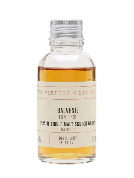 Balvenie Tun 1509 Batch 7 Sample Speyside Single Malt Scotch Whisky