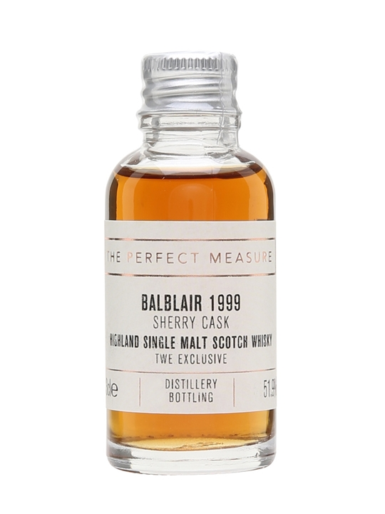 Balblair 1999 Sample / Twe Exclusive Sherry Cask Highland Whisky