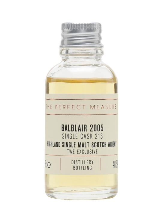 Balblair 2005 Sample / Bot.2021 / Exclusive To The Whisky Exchange Highland Whisky
