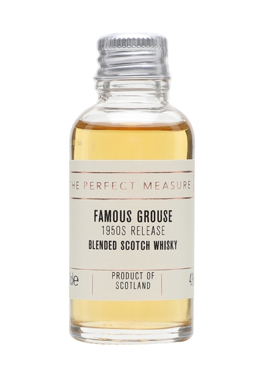 Famous Grouse Sample / 1950s Release Blended Scotch Whisky