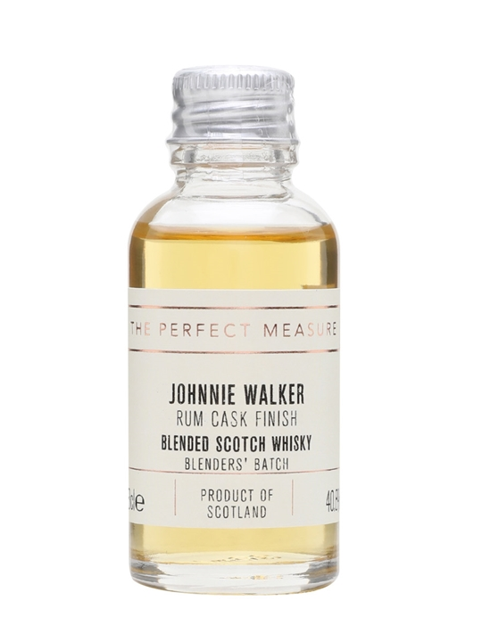 Johnnie Walker Blenders' Batch Rum Cask Finish Sample Blended Whisky