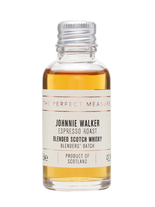 Johnnie Walker Blenders' Batch Espresso Roast Sample Blended Whisky