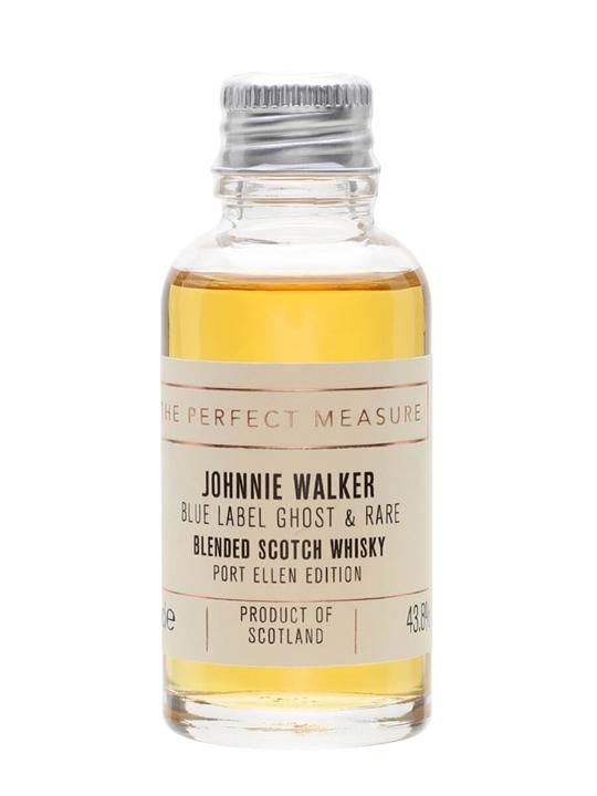 Johnnie Walker Blue Label Ghost And Rare Port Ellen Sample Blended Whisky