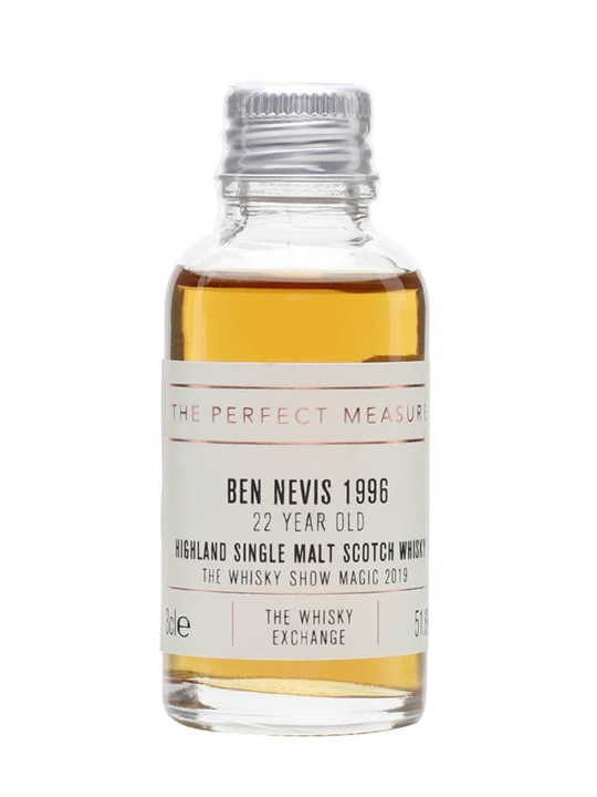 Ben Nevis 1996 Sample / 22 Year Old / Whisky Show 2019 Highland Whisky