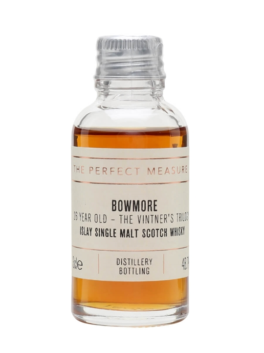 Bowmore 26 Year Old Wine Cask / Vintner's Trilogy Part 2 Sample Islay Whisky
