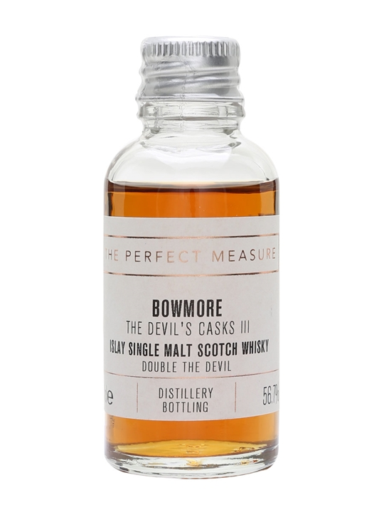 Bowmore The Devil's Casks Iii Sample / Double The Devil Islay Whisky