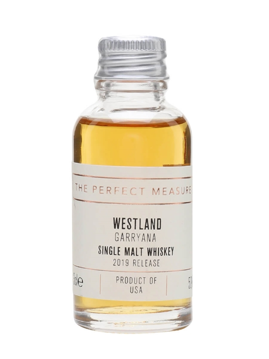 Westland Garryana Sample / 2019 Release American Single Malt Whiskey