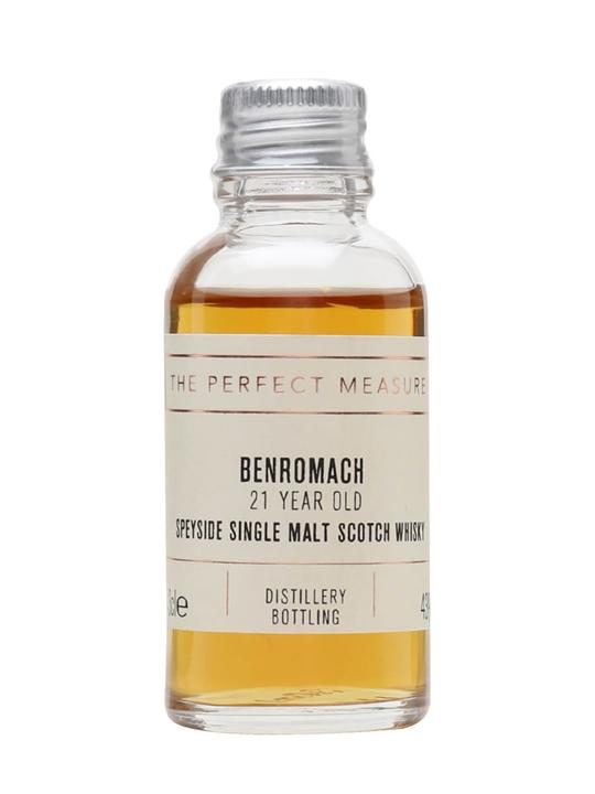 Benromach 21 Year Old Speyside Single Malt Scotch Whisky