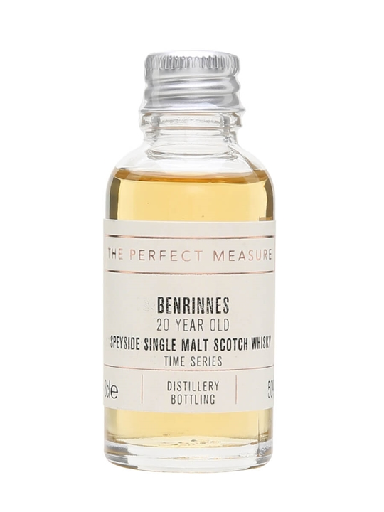 Benrinnes 20 Year Old Sample / Time Series Ii Speyside Whisky