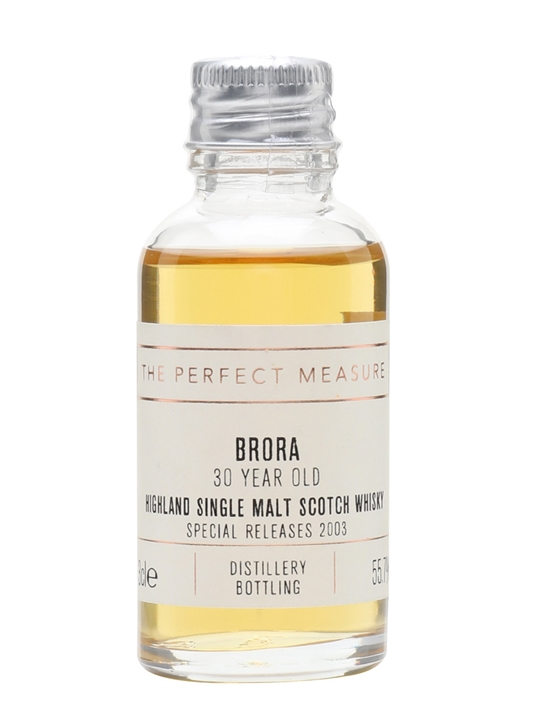 Brora 30 Year Old Sample / 2nd Release / Bot.2003 Highland Whisky