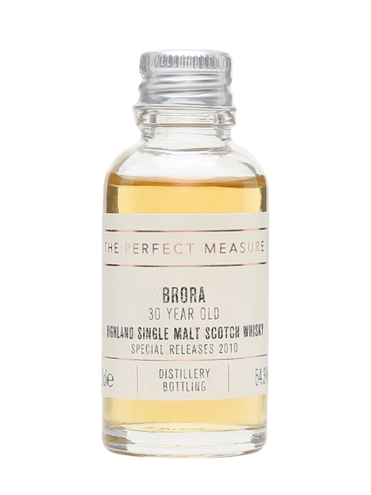 Brora 30 Year Old Sample / 9th Release / Bot.2010 Highland Whisky