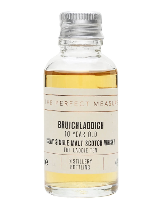 Bruichladdich 10 Year Old Sample / The Laddie Ten Islay Whisky