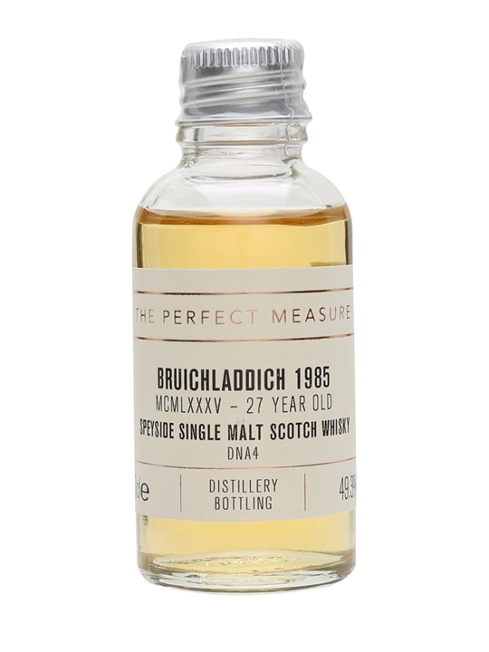 Bruichladdich Mcmlxxxv (1985) Sample / 27 Year Old / Dna4 Islay Whisky