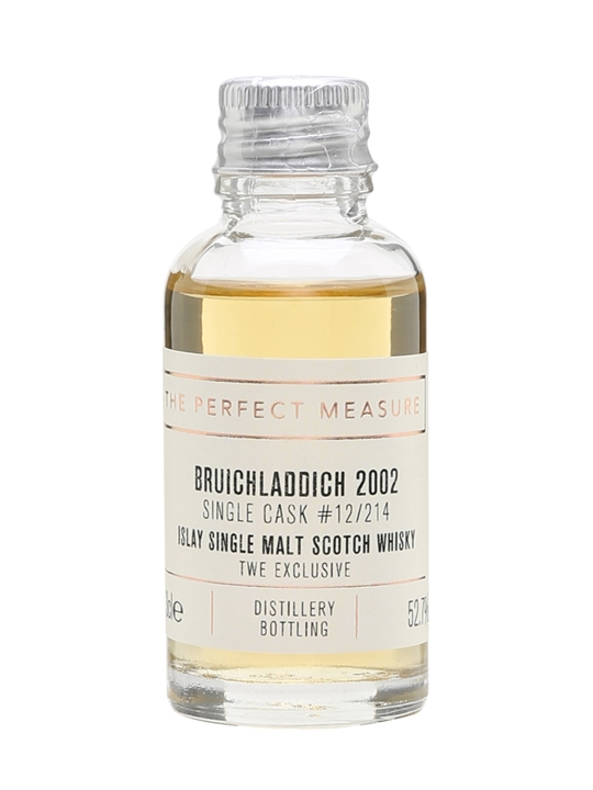 Bruichladdich 2002 Sample / 13 Year Old / Twe Exclusive Islay Whisky