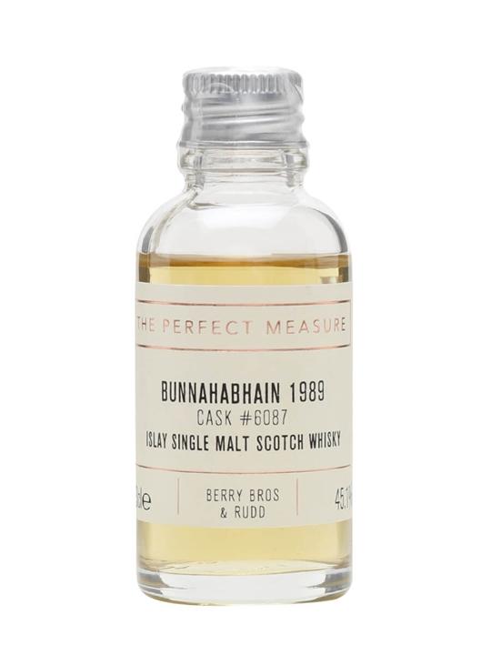 Bunnahabhain 1989 Sample / 28 Year Old / Berry Bros & Rudd Islay Whisky