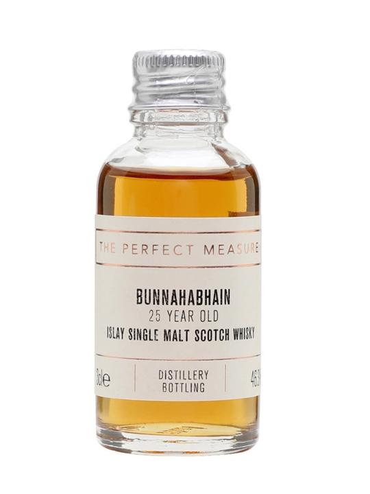 Bunnahabhain 25 Year Old Sample Islay Single Malt Scotch Whisky