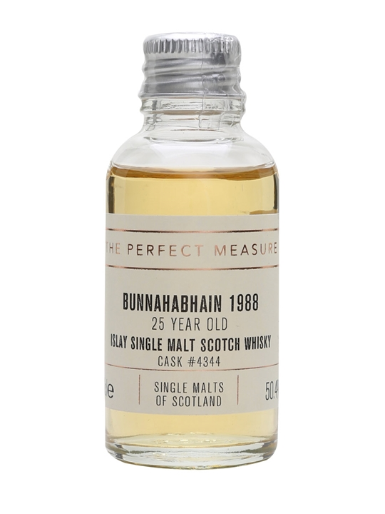Bunnahabhain 1988 Sample / 25 Year Old / Single Malts Of Scotland Islay Whisky