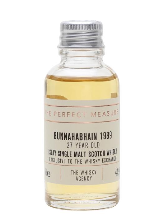 Bunnahabhain 1989 Sample / The Whisky Agency / Twe Exclusive Islay Whisky
