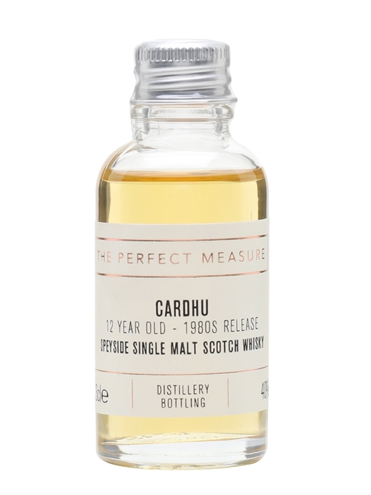 Cardhu 12 Year Old Sample / Bot.1980s Speyside Whisky