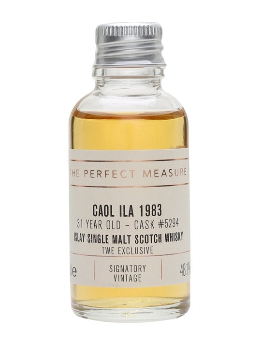 Caol Ila 1983 Sample / 31 Year Old / Signatory For Twe Islay Whisky