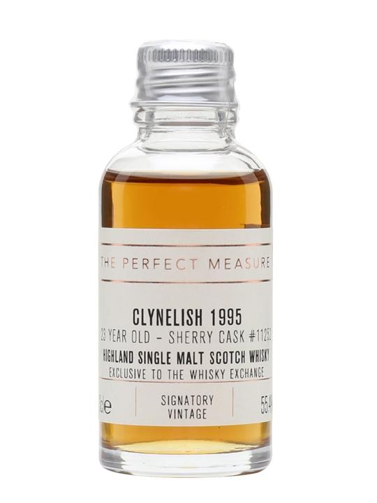 Clynelish 1995 Sample / 23 Year Old / Signatory For Twe Highland Whisky