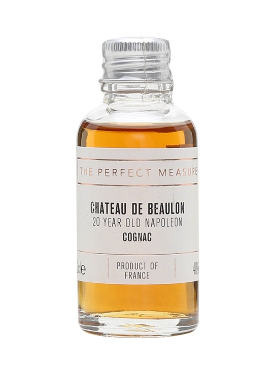 Chateau De Beaulon Napoleon 20 Year Old Cognac Sample