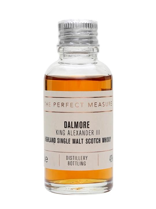 Dalmore King Alexander Iii Sample Highland Single Malt Scotch Whisky