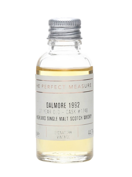 Dalmore 1992 Sample / 27 Year Old / Signatory Highland Whisky