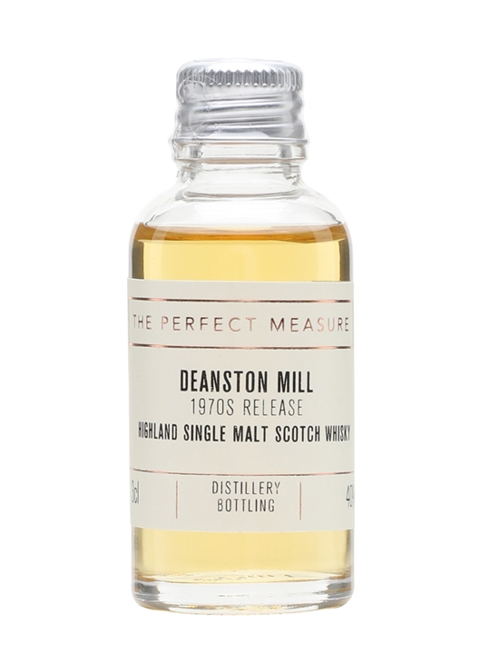 Deanston Mill Sample / 1970s Release Highland Whisky