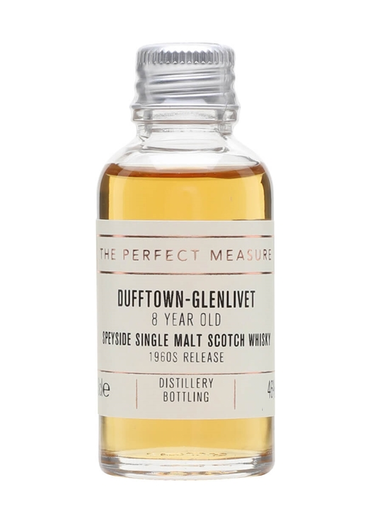 Dufftown-glenlivet 8 Year Old Sample / 1960s Release Speyside Whisky
