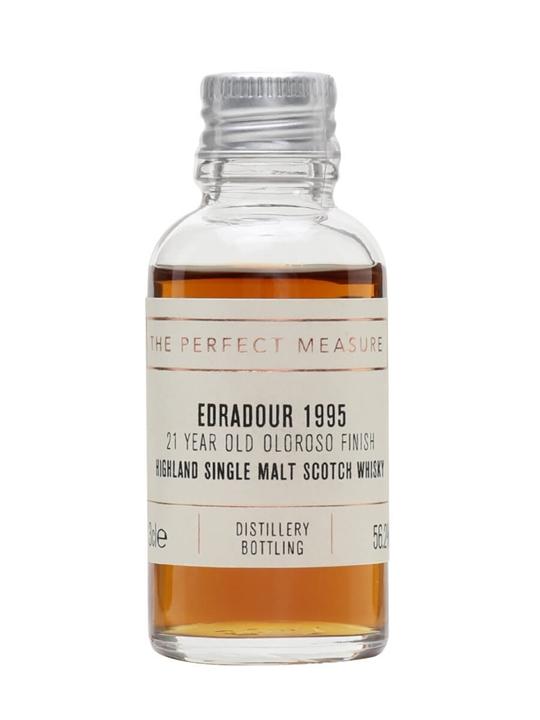 Edradour 1995 Sample / 21 Year Old / Oloroso Finish Highland Whisky