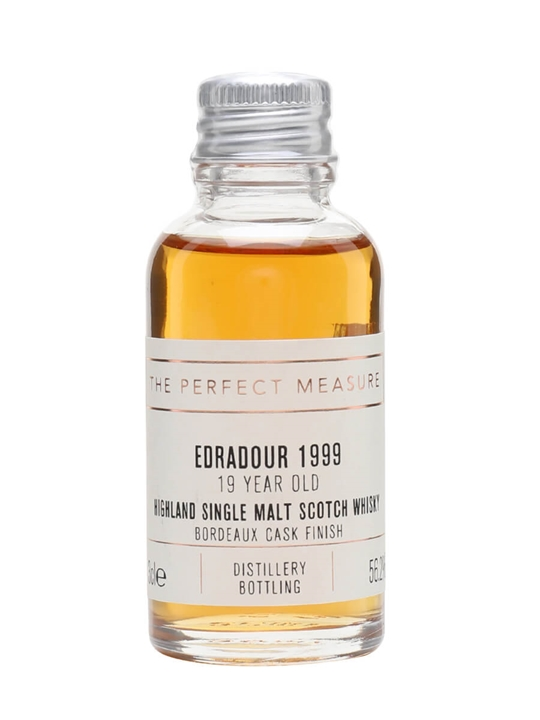 Edradour 1999 Sample / 19 Year Old / Bordeaux Finish Highland Whisky