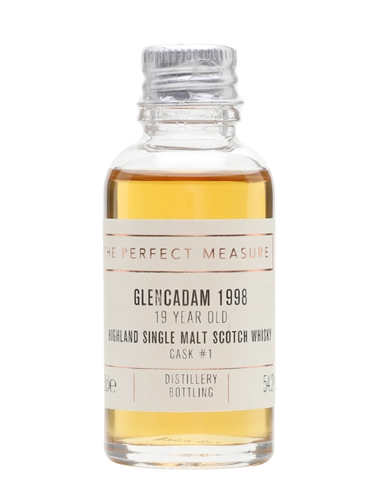 Glencadam 1998 Sample / 19 Year Old / Cask #1 Highland Whisky