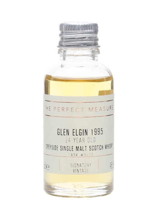 Glen Elgin 1995 Sample / 24 Year Old / Signatory Speyside Whisky
