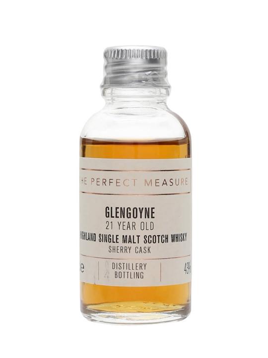 Glengoyne 21 Year Old Sample / Sherry Cask Highland Whisky
