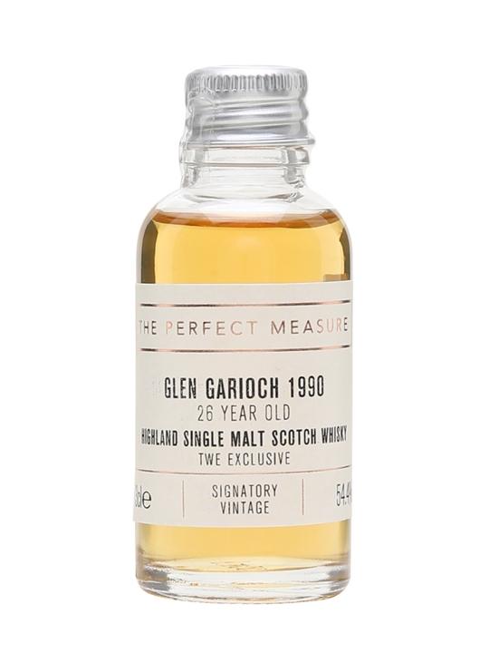 Glen Garioch 1990 Sample / Signatory For Twe Highland Whisky