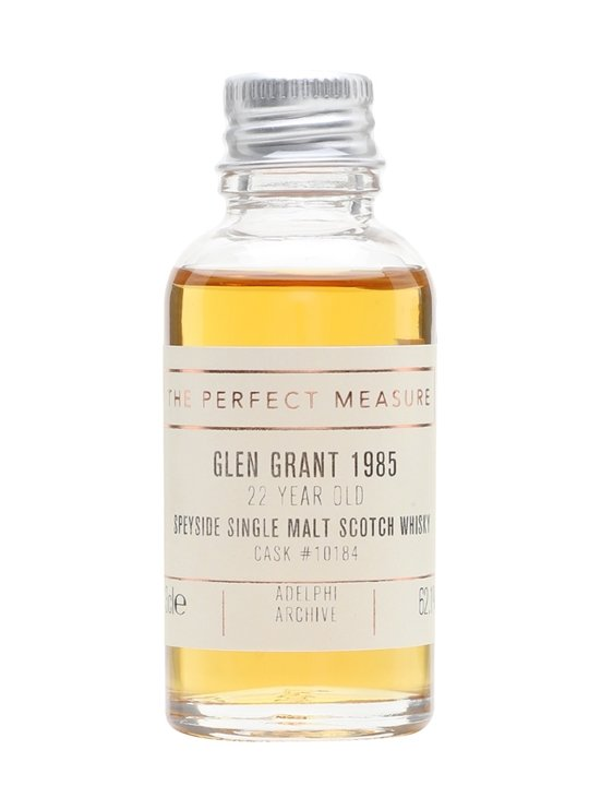 Glen Grant 1985 Sample / 22 Year Old / Adelphi Speyside Whisky