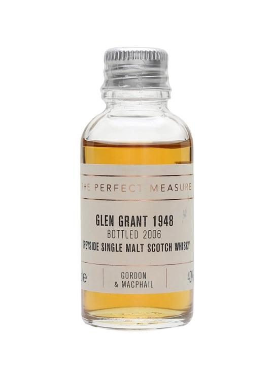 Glen Grant 1948 Sample / Bot.2006 / Gordon & Macphail Speyside Whisky