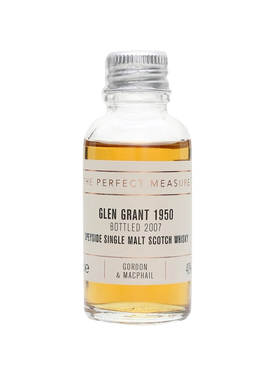 Glen Grant 1950 Sample / Bot.2007 / Gordon & Macphail Speyside Whisky