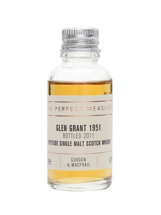 Glen Grant 1951 Sample / Bot.2011 / Gordon & Macphail Speyside Whisky