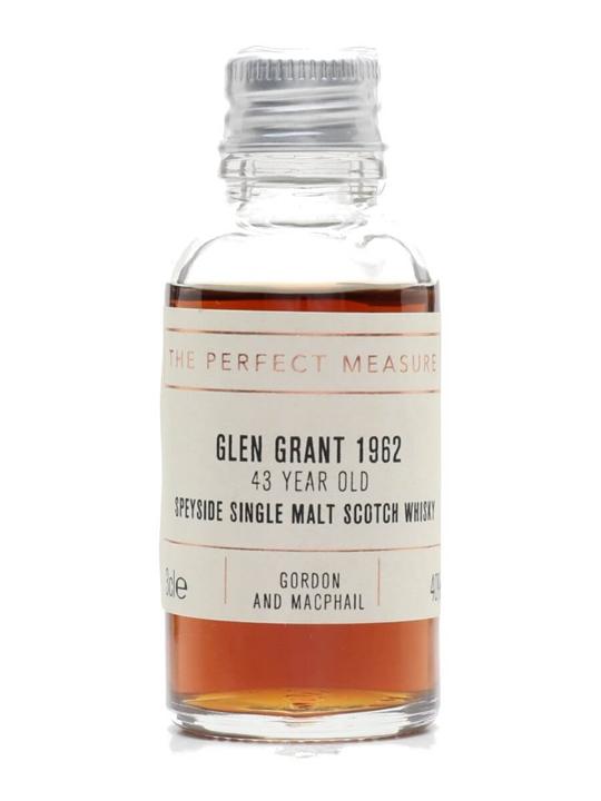 Glen Grant 1962 Sample / 43 Year Old / 2006 Release Speyside Whisky