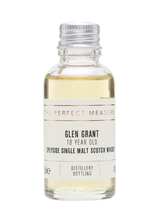 Glen Grant 18 Year Old Sample Speyside Single Malt Scotch Whisky