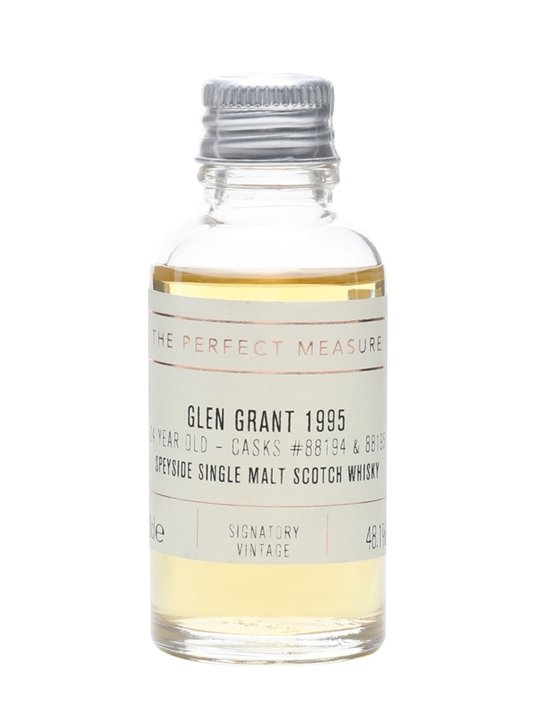 Glen Grant 1995 Sample / 24 Year Old / Signatory Speyside Whisky