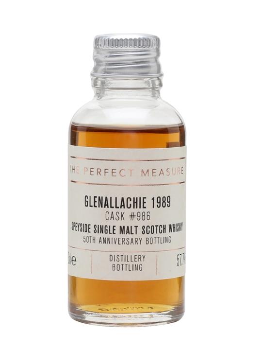 Glenallachie 1989 Sample / Bot.2018 / Cask #986 Speyside Whisky