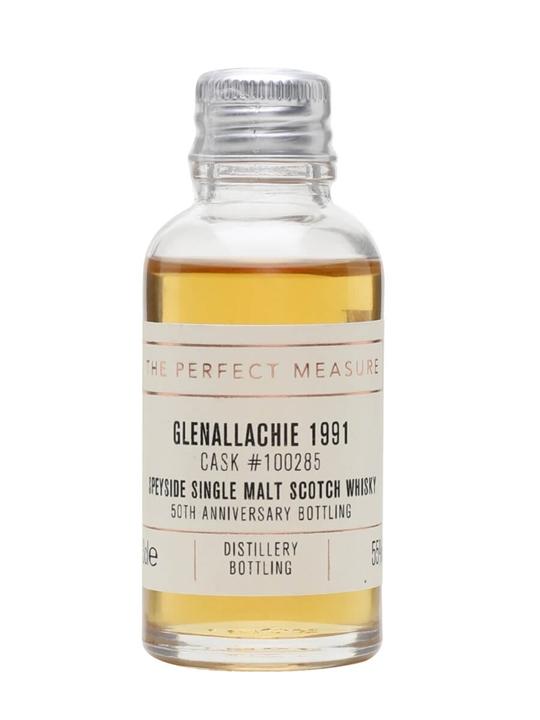 Glenallachie 1991 Sample / Bot.2018 / Cask#100285 Speyside Whisky